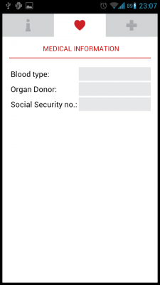 Post image for Medic SOS is an Android app to store Emergency Personal Information