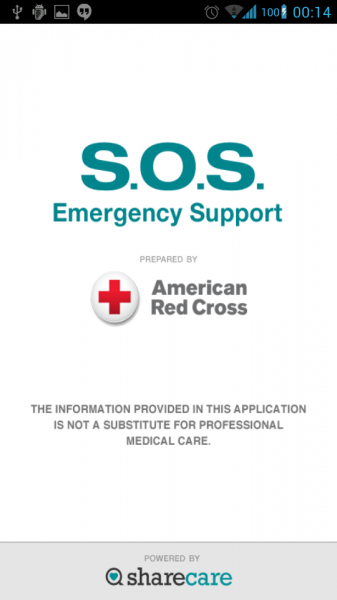 SOS by the American Red Cross