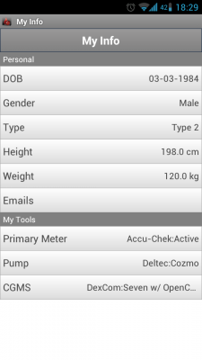 Post image for Glucose Buddy is a Journal app for Android