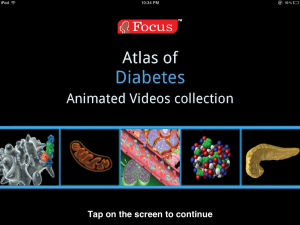 Post image for Focus Medica's Animated Atlas of Diabetes app is a great patient education tool