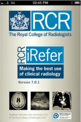 Post image for A review of the current state of radiology medical apps