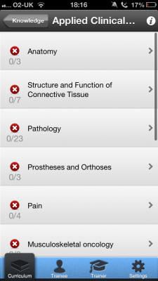 Post image for UK Trauma & Orthopedics curriculum outlined in new app
