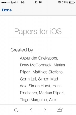 Post image for Paper, one of the original iPad PDF medical literature apps, gets a major update