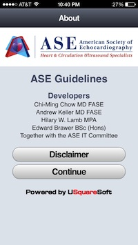 Post image for iASE app is a great reference for cardiologists learning about echocardiography