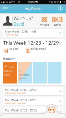 Post image for Physician's 2 year review of GymPact, now called Pact, an app that pays you for exercising