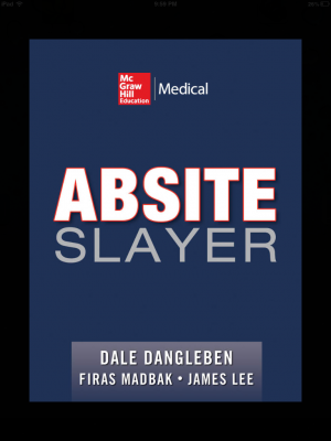 Post image for The ABSITE Slayer app is one of the best resources for surgery training exams