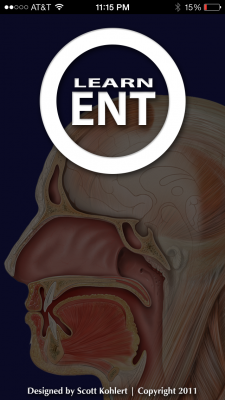 Post image for The LearnENT app can be used to learn the essentials of Otolaryngology and Head and Neck Surgery