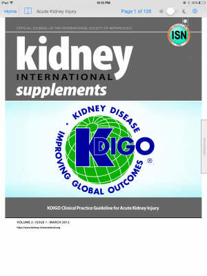 Post image for KDIGO Mobile app brings nephrology guidelines to the iPad