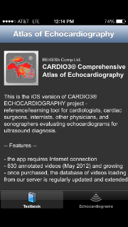 Post image for CARDIO3 Echocardiography app has a wealth of poorly organized information