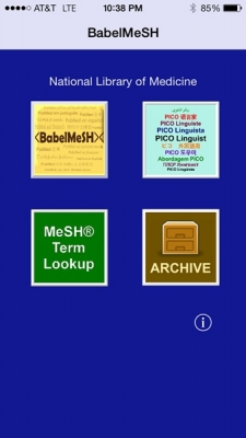 Post image for BabelMeSH app helps researchers search PubMed in 13 different languages